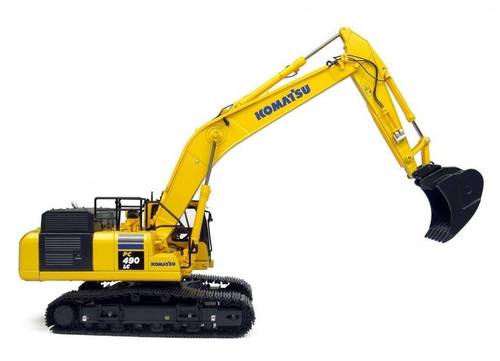 Product picture KOMATSU PC490LC-11 HYDRAULIC EXCAVATOR SERVICE REPAIR MANUAL (S/N: 85001 and up)